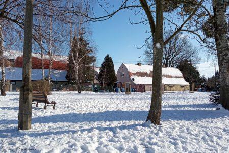 Zima ❄ na Kozim Parku…